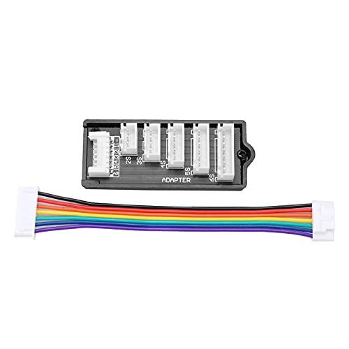 Cargador de equilibrio 2S-6S Conversor de adaptador de tablero de equilibrio de expansión extendido para carga de batería Lipo