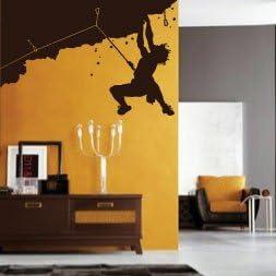 amazing sticker Vinilo decorativo para pared, diseño de hombre de montaña y niños