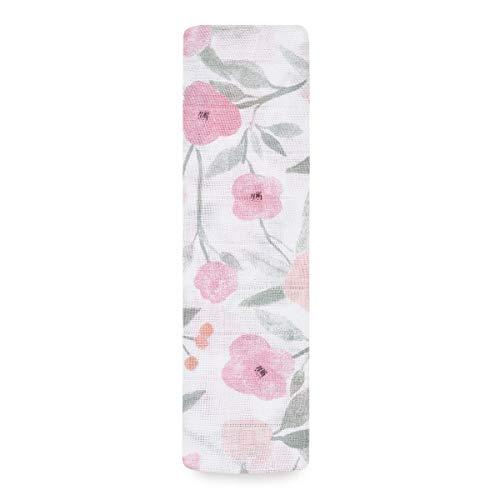 aden + anais Ma Fleur - Pañuelo Grande 100% Muselina de algodón (120 x 120 cm)