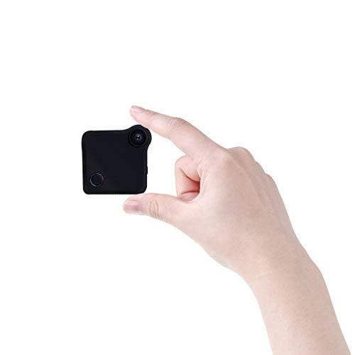 MUTANG HD Mini cámara inalámbrica espía inalámbrica WiFi - Cámaras de Sistema de Seguridad pequeñas para el hogar, la Oficina, el Coche y el dron con detección de Movimiento y visión Nocturna