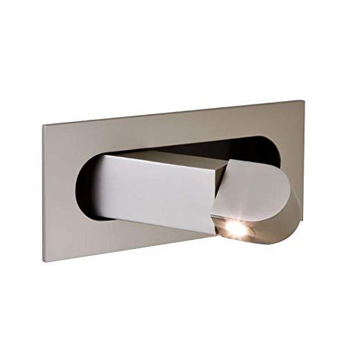 Slaapkamer gedempt Indoor LED wandlamp nachtkastje leeslamp vouwen inbouw wandlamp Hotel Cafe hoek instelbare 3W wandlamp