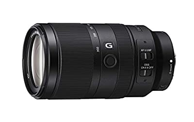 Sony Alpha 70-350mm F4.5-6.3 G OSS Super-Telephoto APS-C Lens by Sony