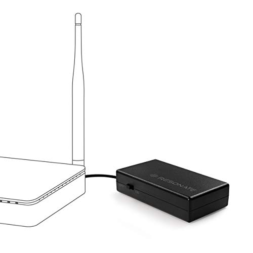 RESONATE RouterUPS CRU12V2A Power Backup for Wi-Fi Router (Black)