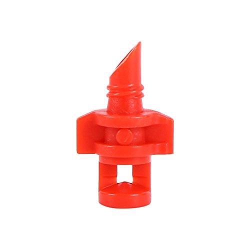 Roadiress 50Pcs Micro Garden Lawn Water Spray Misting Nozzle Sprinkler Irrigation System Lawn sprinker(360°)