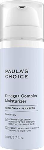 Paula's Choice Omega + Complex Nachtcreme - Reichhaltige Feuchtigkeitscreme Pflegt & Regeneriert Dehydrierte Haut - Nachtpflege mit Shea Butter & Linolsäure - Normale bis Sehr Trockene Haut - 50 ml