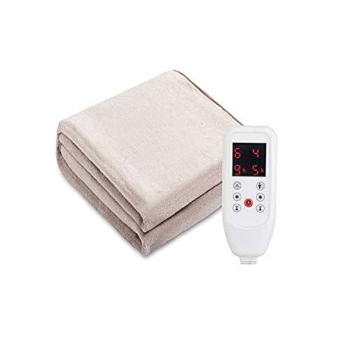 AGWa Promed mimosa Calefacción Manta, Manta eléctrica con apagado automático, manta térmica,...