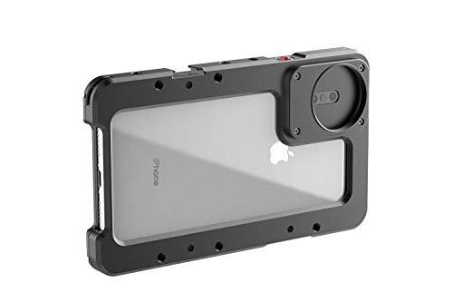 BEASTGRIP Beastcage - Carcasa para iPhone XS MAX (con Adaptador de Rosca para Lentes y Filtro)