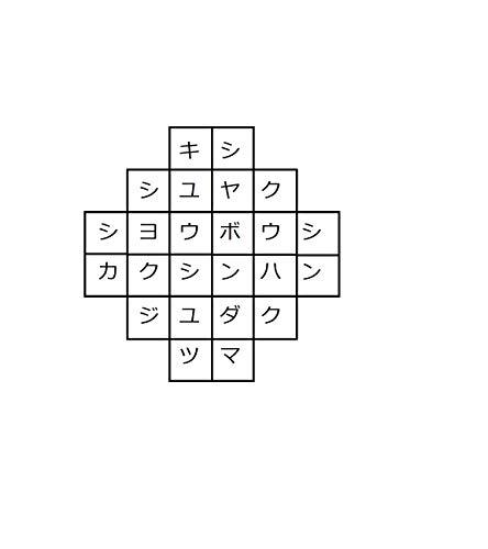appreciation the crossword (Japanese Edition)