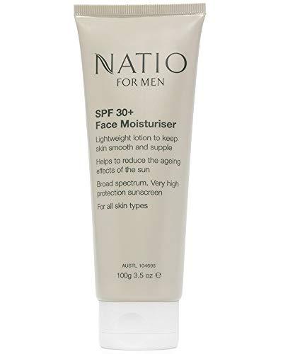 Natio Men's SPF 30+ Face Moisturiser 100g