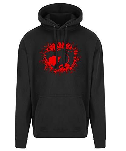 Adults Thundercats Big Bang Logo Hoodie, S to 3XL