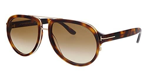 Tom Ford Hombre gafas de sol Geoffrey FT0779, 53F, 58