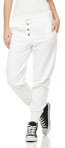 Malito Mujer Harem Pantalón en el clásico Design Aladin Baggy Bombacho Yoga 8021