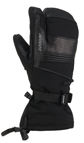 Gordini GTX Storm Trooper 3 Finger Mitt, Uomo, Black