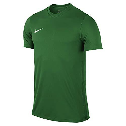 Nike Park VI Camiseta de Manga Corta para hombre, Verde (KiefernVerde/Blanco), M