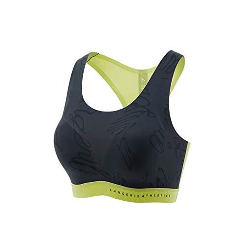 Gezellige dunne taille Vest Yoga Fitness Hardlopen zonder stalen Ring Sport Ondergoed Hoge Elastische Stretch kan alleen gedragen worden