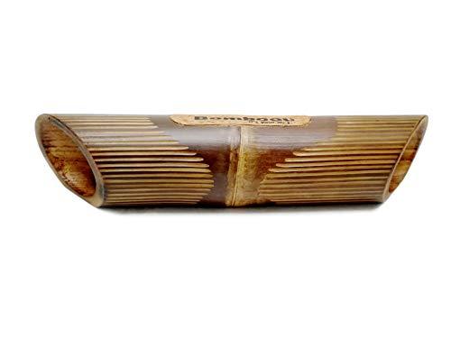 Altavoz de bambú Lines para Smartphone 100% Vegetal. Amplificador sin Consumo eléctrico....