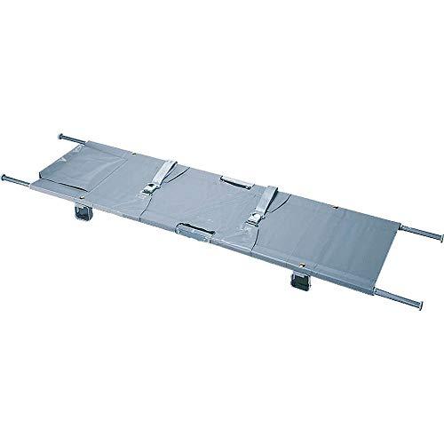 TMS PRO SHOP Transporttrage, Modell B, zusammenklappbar, Tragkraft bis 150 kg, aus Aluminium aus Kunststoff, Aluminium,Stahl