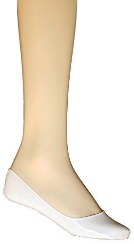 Sogno D'oro 100-53 12-delig pak dames voetjes ballerina sneaker sokken 1size Uni maat schoenmaat 34 35 36 37 38 39