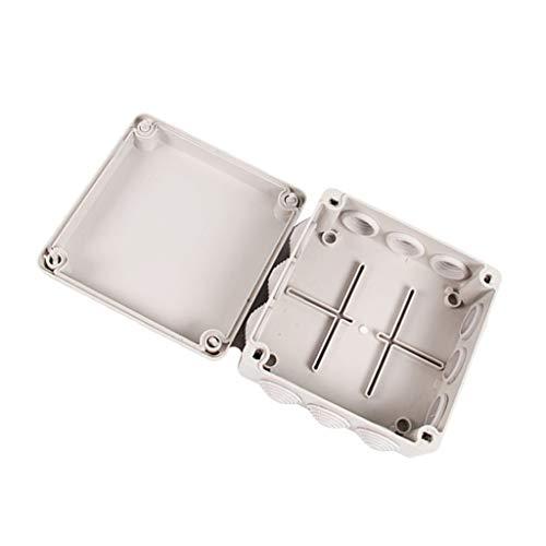B Baosity IP66 Wasserdicht Kunststoff Gehäuse Fall Power Abzweigdose Anschlusskasten 16 Größe Auswahl - 150x150x70mm