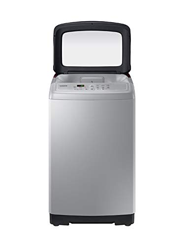 Samsung 6.5 Kg Fully-Automatic Top Loading Washing Machine (WA65A4022FS/TL, Imperial Silver, Wobble technology)