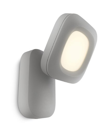 Philips LED-Außenwandleuchte mit Wolkenerkennung