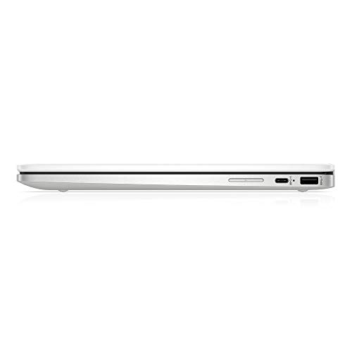 HP Chromebook x360 14a-ca0217ng (14 Zoll / HD Touch) 2in1 Convertible Laptop (Intel Celeron N4020, 4GB LPDDR4 RAM, 64GB eMMC, Intel UHD Grafik, Chrome OS, QWERTZ) weiß - 7
