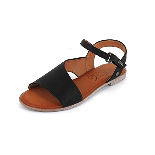 Mustang Damen 1388-801 Sandale, schwarz, 40 EU