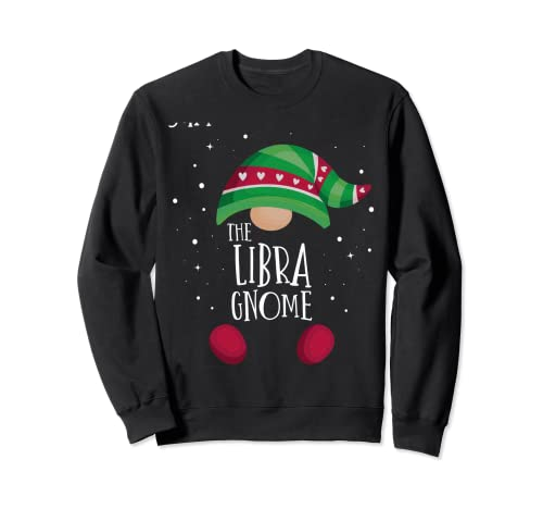 Pijama de Navidad a juego con el gnomo de Libra Pijama famil Sudadera