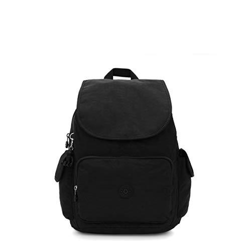 Kipling BP4328 Women's City Pack Medium Backpack, black noir, One Size
