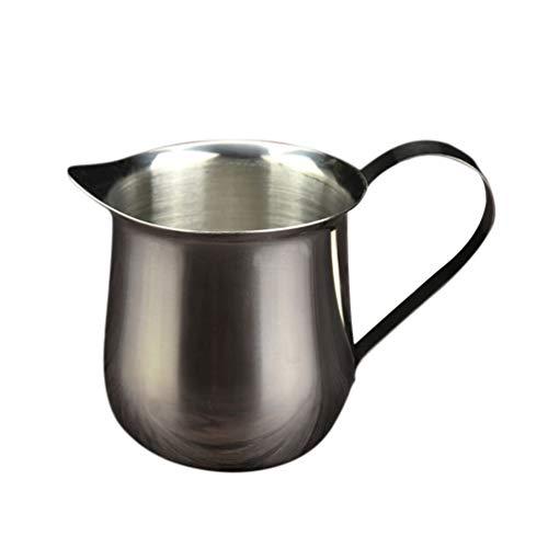 Hemoton Melkopschuimer Roestvrijstalen Melkkan Dampende Kan Melkkan Voor Koffie Cappuccino Latte 240Ml