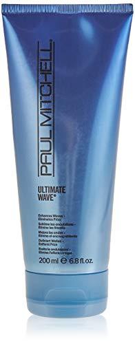 Paul Mitchell Ultimate Wave - Creme-Gel für mehr Struktur und tolle Beach-Waves, Hair Wax für Undone Looks mit Anti-Frizz Effekt - 200 ml