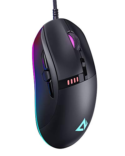 AUKEY Knight Mouse Gaming RGB 10000 dpi, 8 programmable buttons
