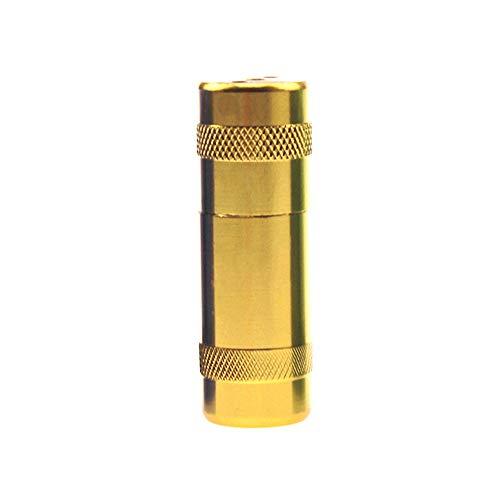 Creative-Opener Aluminium Sahne- und Schaumschlagsahnespender Sahnekapseln Whipping Hausgeräte (gold)