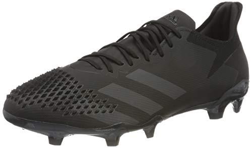 adidas Predator 20.2 FG, Zapatillas de Fútbol Hombre, Negro (Cblack/Cblack/Dgsogr 000), 43 1/3 EU