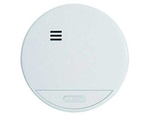 ABUS Rauchmelder RWM150 mit 10-Jahres-Batterie - geeignet für Wohnräume und geprüft nach DIN EN 14604 - 85 dB Alarmlautstärke - weiß - 37242
