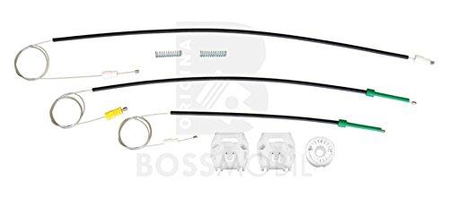 Original Bossmobil 607 (9D, 9U),Vorne Links, Fensterheber-Reparatursatz, Gleitclip, Gleitbacke clip