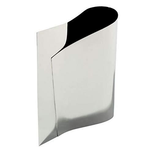 Alessi E-LI-LI Officina FM02 E-LI-LI Vaso per Fiori, Acciaio Inossidabile 18/10, Argento, 25x8.1999999999999993x30 cm