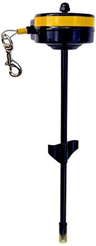 Aufrollleine , Hofleine , Gartenleine , Feldleine .Versenkbareleine (Aufrollleine / Spieß bis 15 kg)