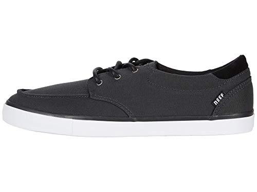 Reef Herren Deckhand 3 Sneaker, Black/White, 37.5 EU