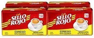 Cafe Sello Rojo Espresso   Best selling coffee brand in Colombia   100% Colombian dark