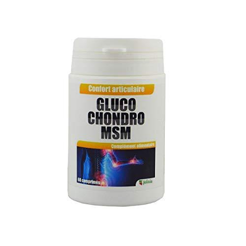 Glucosamine et Chondroïtine MSM - comprimés de 675 mg - 180 comprimés