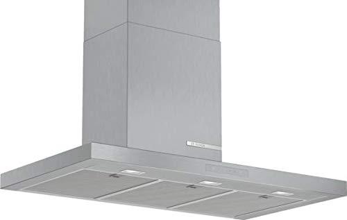 Bosch DWB97CM50 Serie 6 Wandesse / A+ / 90 cm / Edelstahl / wahlweise Umluft- oder Abluftbetrieb / TouchSelect Bedienung / Silence / Intensivstufe / Metallfettfilter (spülmaschinengeeignet)