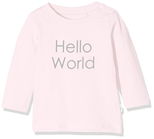 NAME IT NAME IT Unisex Baby NBNDELUFIDO LS TOP NOOS T-Shirt, Rosa (Ballerina), 62