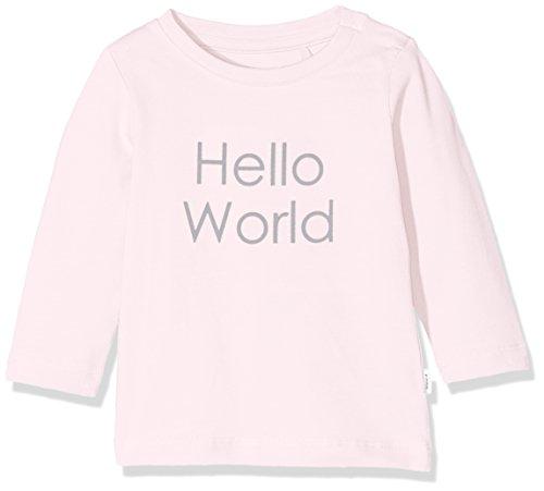 NAME IT Unisex Baby NBNDELUFIDO LS TOP NOOS T-Shirt, Rosa (Ballerina), 62