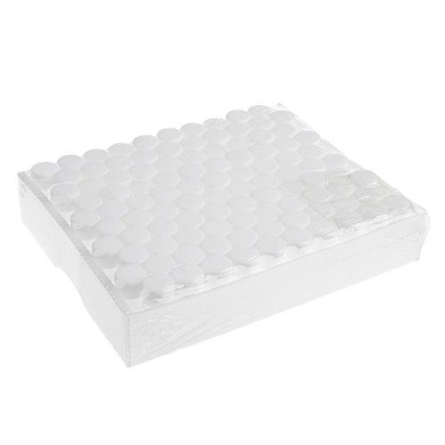 Bonarty de de Líquidos de Laboratorio Frascos de Vidrio Frascos con Tapón de Rosca Transparente - Claro, 3ml