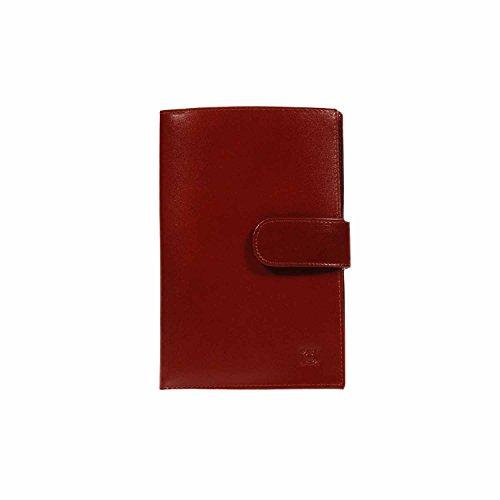 Porte Document en Cuir Taille: Taille Unique Couleur: CHÂTAIGNE