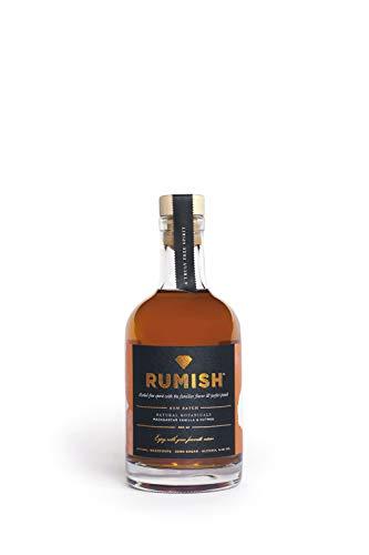 ISH Spirits RumISH alkoholfreier Rum – 350ml - Premium Spirituose mit weniger als 0,5% Alkohol und vollem Rum-Geschmack, aus natürlichen Pflanzen, perfekt für alkoholfreie Cocktails und Longdrinks