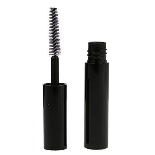 Baosity 4ml Tube Vide à Mascara avec Applicateur de Brosse - Flacon Bouteille de Cils Croissance/Lip Gloss/Vernis à Ongles - Noir