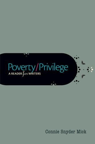 Poverty/Privilege: A Reader for Writers