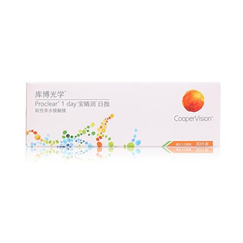 Proclear 1 day, Tageslinsen weich, 30 Stück / BC 8.7 mm / DIA 14.2 / -5.75 Dioptrien